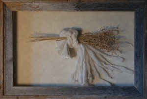 Pioneer Woman (shadow box)